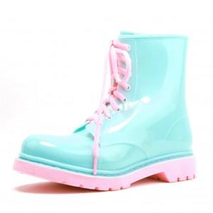Резиновые ботинки DripDrop голубые