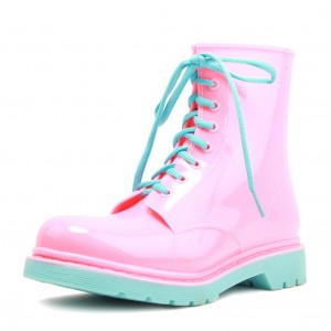 Резиновые ботинки DripDrop розовые