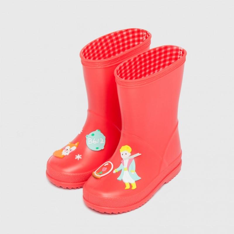 """Резиновые сапоги детские """"Сказка"""" красные"""