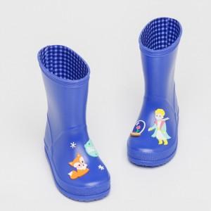"""Резиновые сапоги детские """"Сказка"""" синие"""