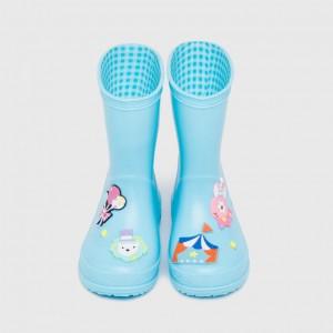 """Резиновые сапоги детские """"Цирк"""" голубые"""